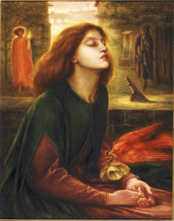 Самые впечатляющие среди картин прерафаэлитов