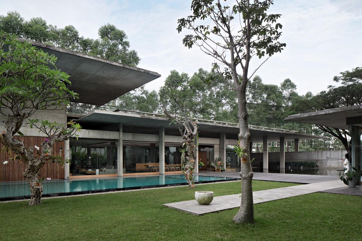 Семейный частный дом в Индонезии