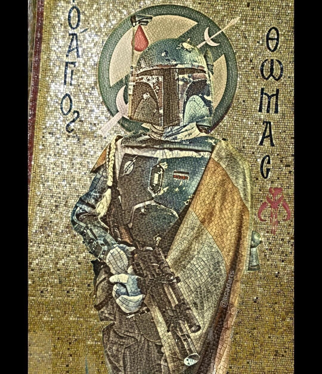 Персонажи Звездных войн в сюжетах классических картин