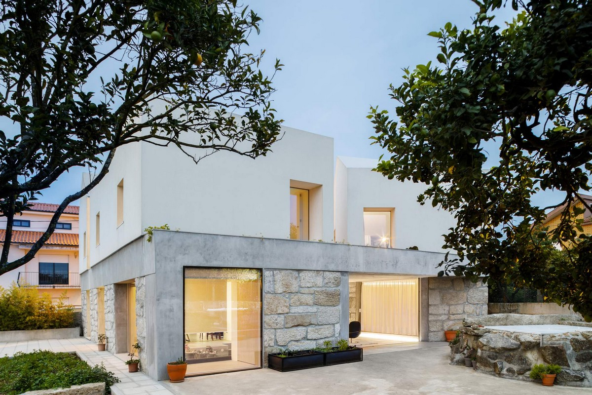 Реконструкция старого фермерского дома в Португалии