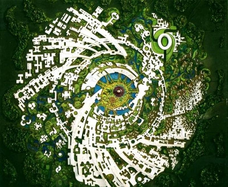 Самые странные и нетривиальные города планеты