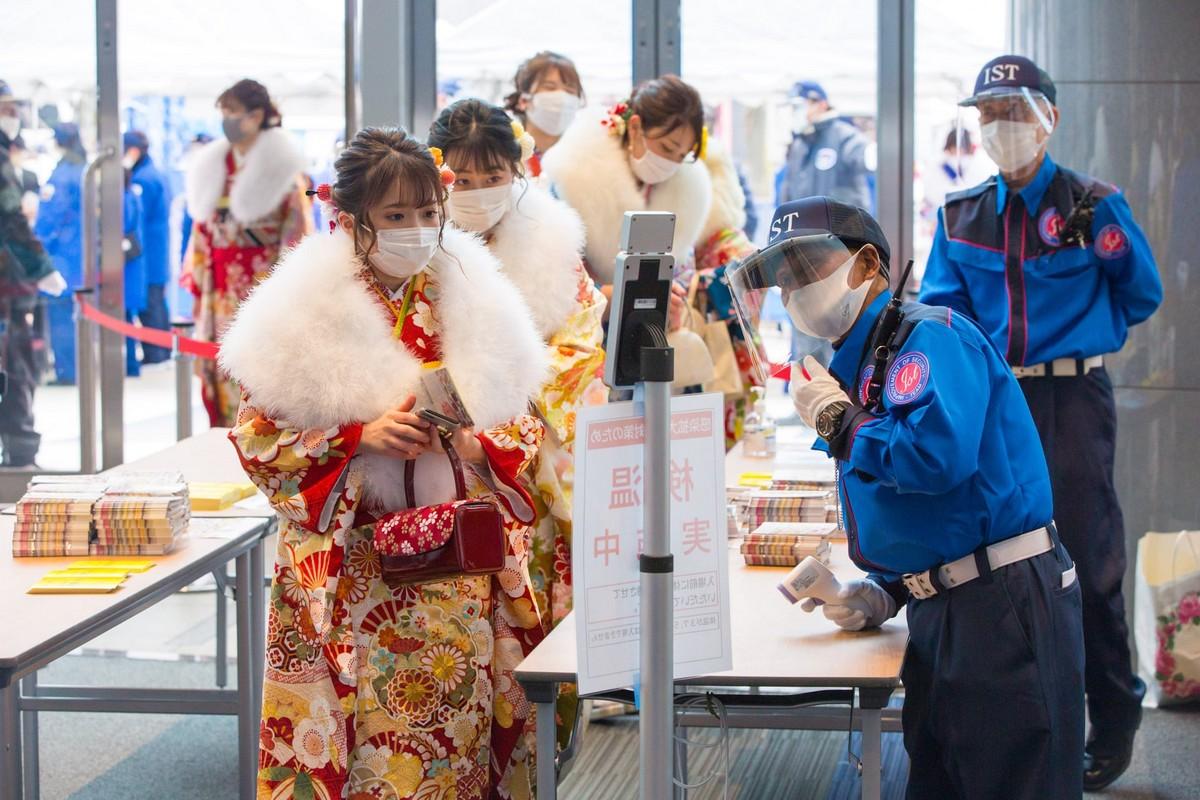 Японская молодежь отпраздновала День совершеннолетия 2021