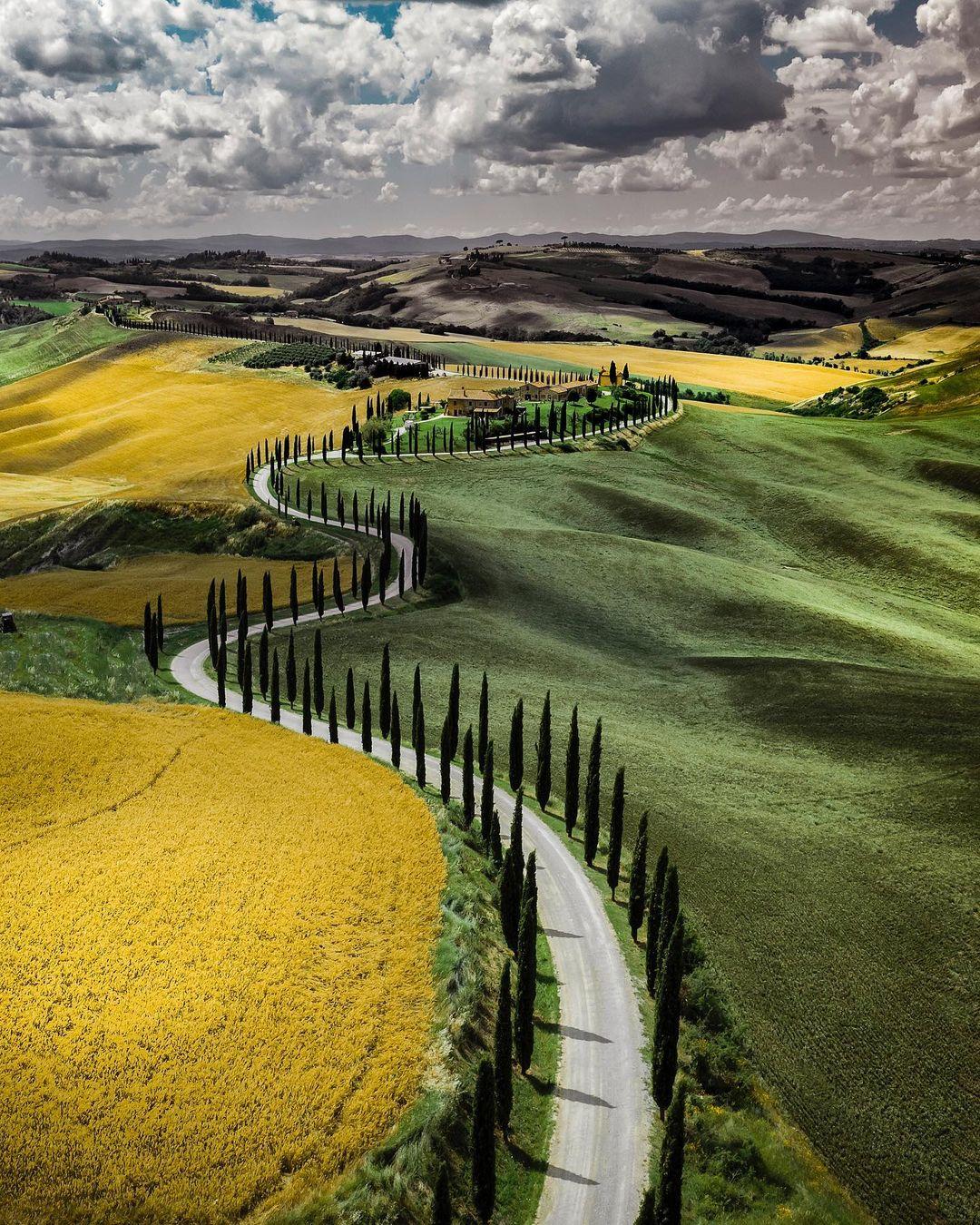 Захватывающие пейзажи Италии на снимках Макса Лацци