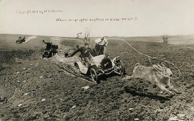Странный и забавный фотомонтаж начала XX века