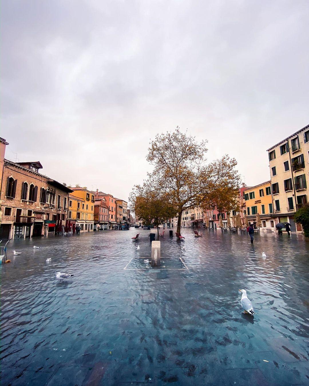 Венеция на уличных и архитектурных снимках Марко Гаджио