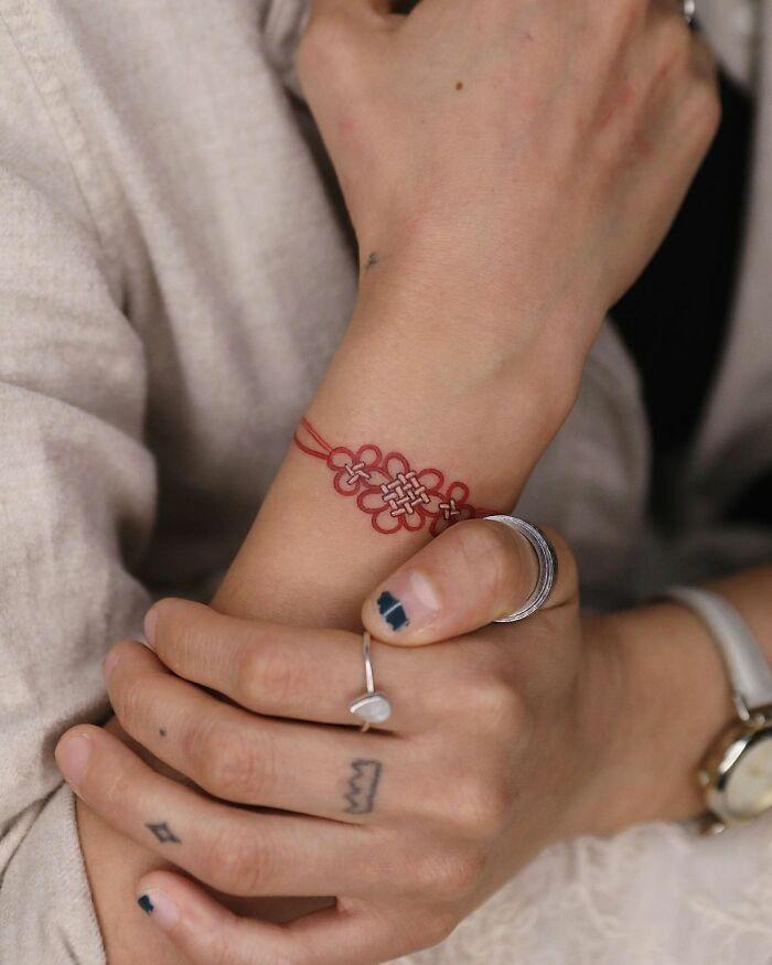 Изящные работы татуировщицы из Южной Кореи