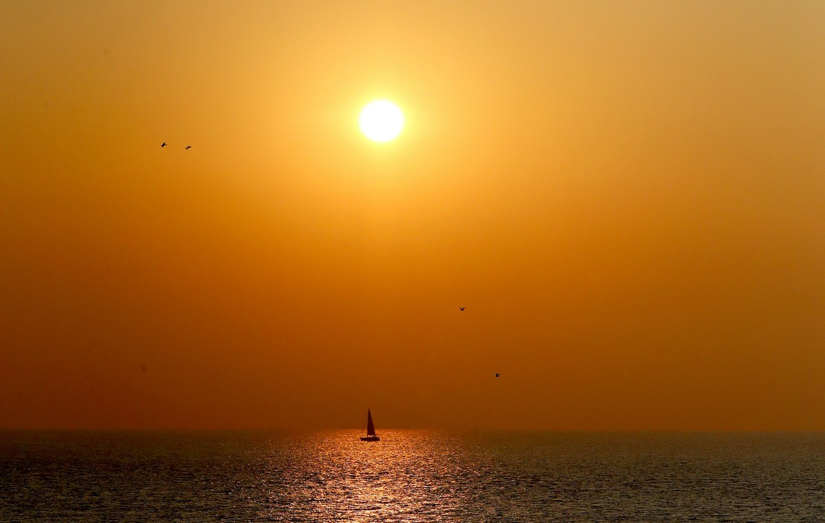 Живописные рассветы и закаты на снимках