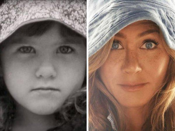 Детские снимки знаменитых актёров и актрис
