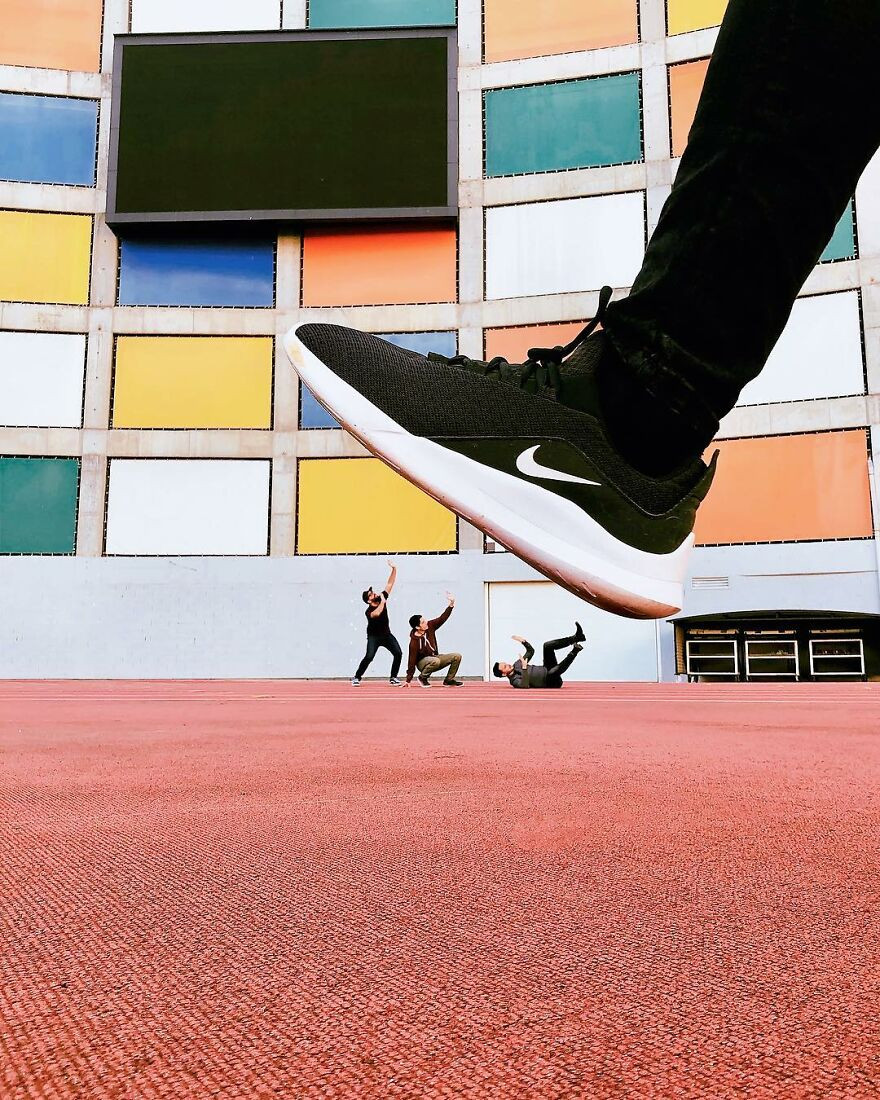 Удивительные фотоиллюзии от португальского художника FilipeSJ