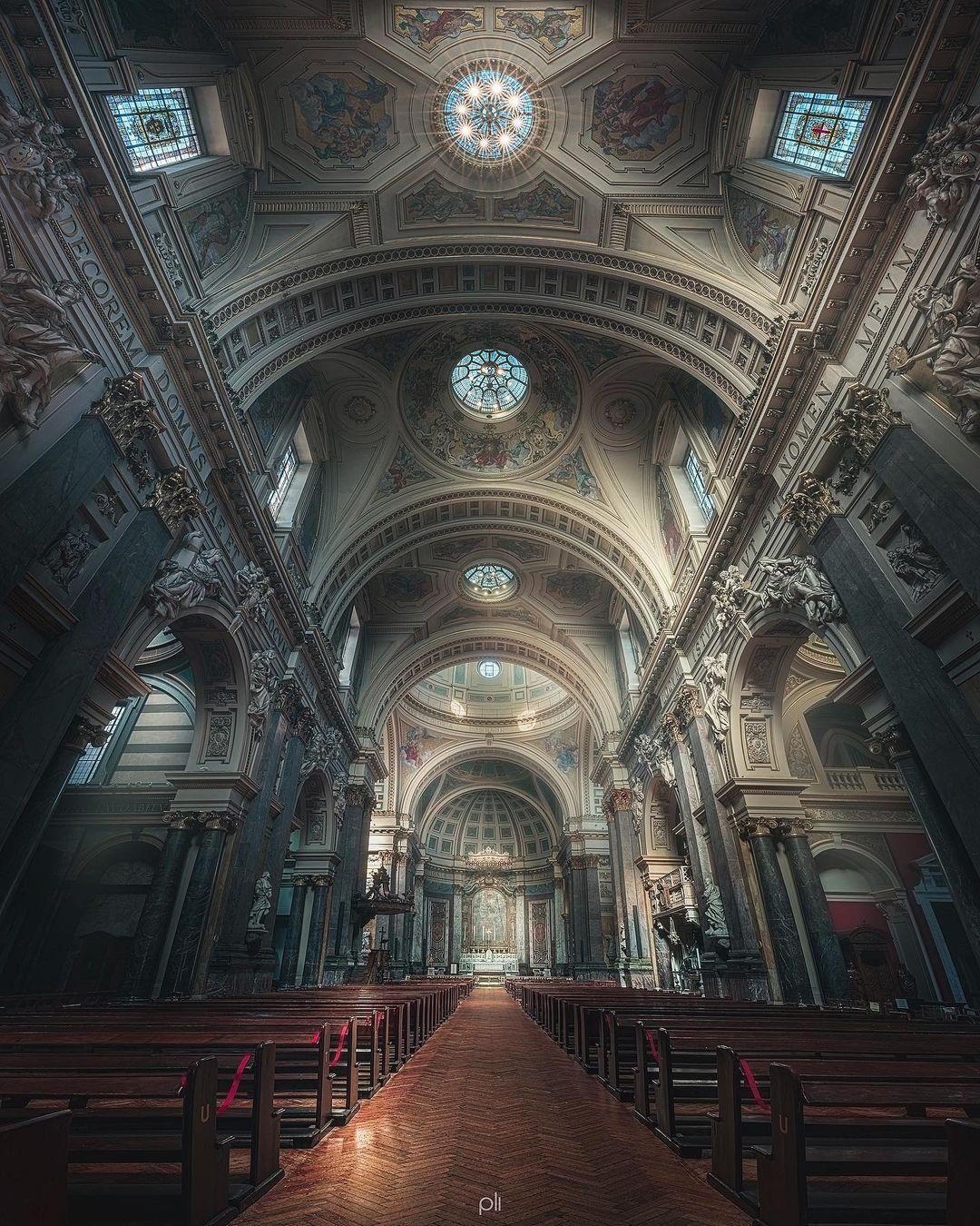 Впечатляющие архитектурные панорамы от Питера Ли