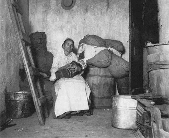 Итальянские эмигранты Нью-Йорка в начале ХХ века