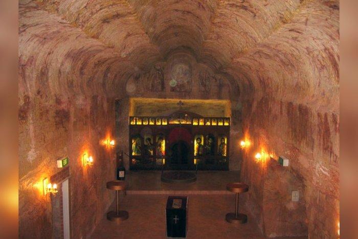 Подземный город Кубер-Педи, где живут 1800 человек