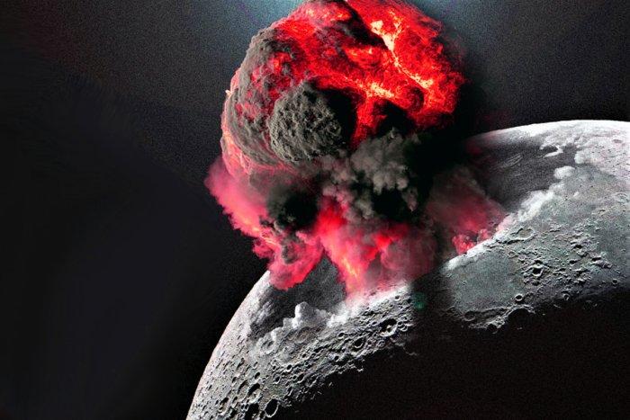 Что произойдёт, если взорвать атомную бомбу на Луне?