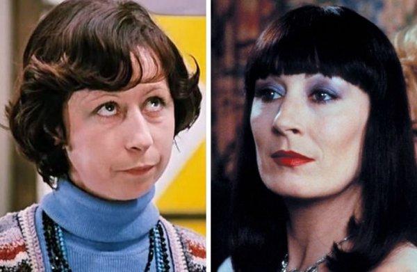 Как известные советские и зарубежные актрисы выглядели в одном возрасте