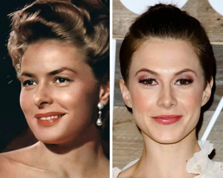 Знаменитые актёры и актрисы прошлого, и их внуки