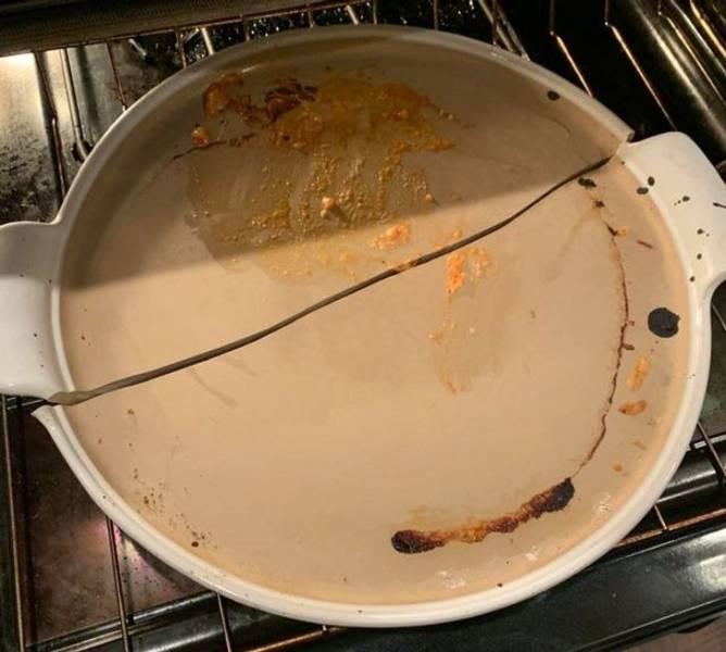 Напоминания о том, почему некоторых нельзя пускать на кухню