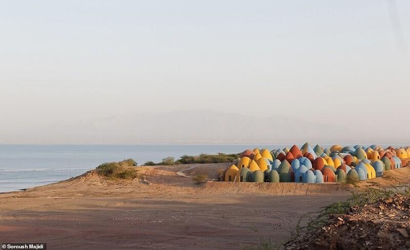 Необычный мультяшный курорт Маджара на иранском острове