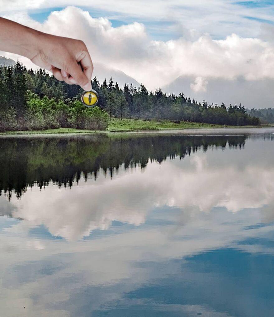 Сюрреалистические и фантастические фотографии Хьюго Сисаса