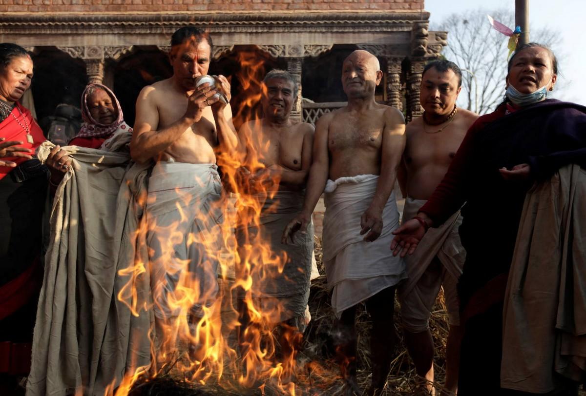 Фестиваль Свастхани Брата Катха в Непале