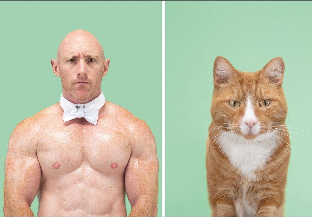 Забавное сходство животных и их хозяев на снимках Джерарда Геттингса
