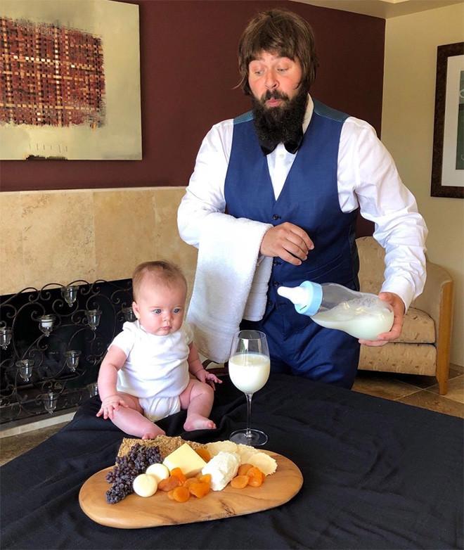 Нескучные снимки от папы и его дочки-малышки