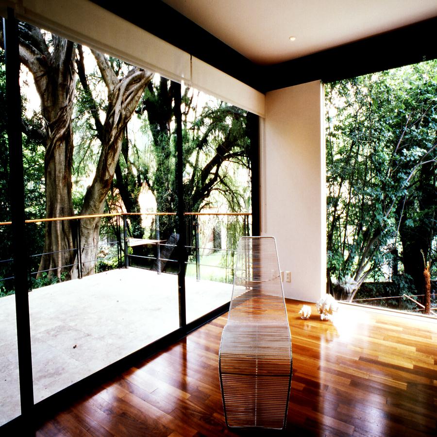 Загородная односемейная резиденция в Мексике
