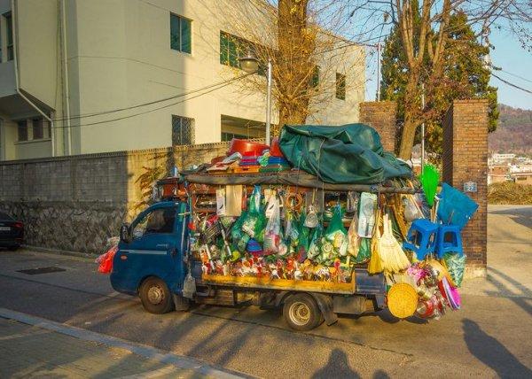 Некоторые интересные факты и снимки о жизни в Южной Корее