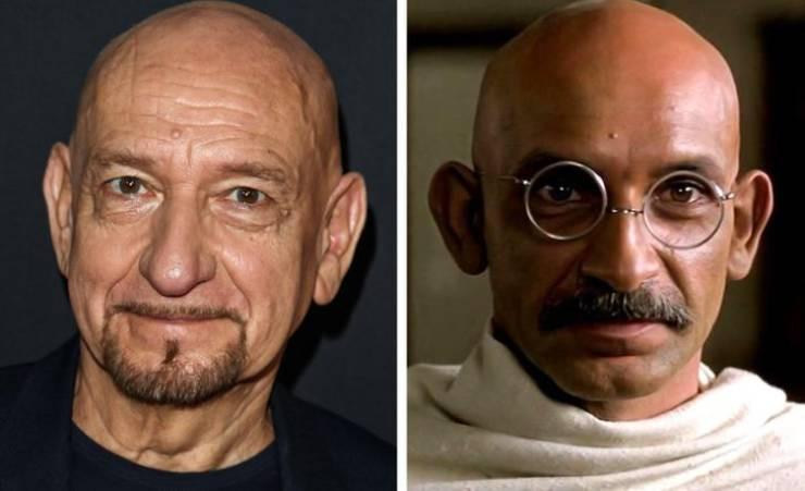 Актёры, которые максимально преобразились для роли