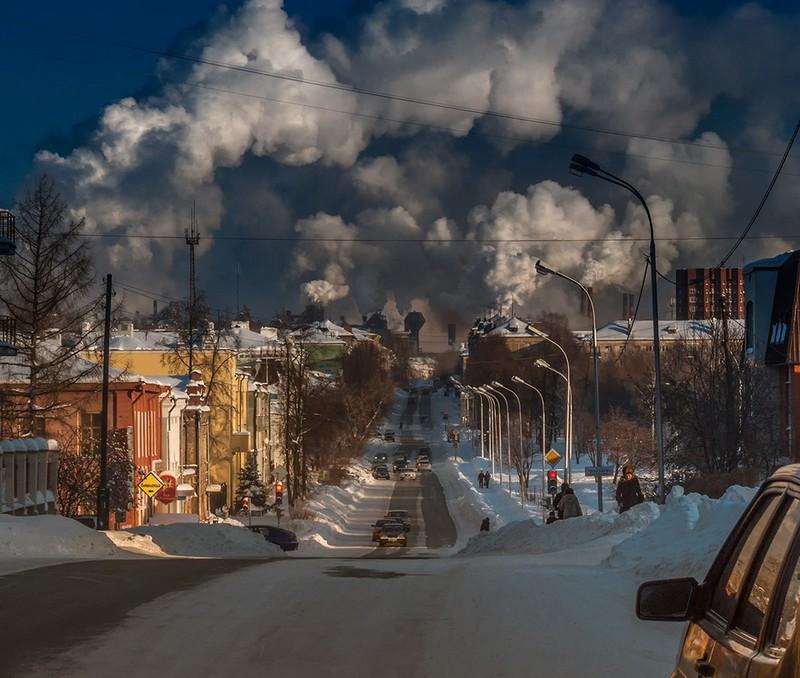 Самые грязные из городов России