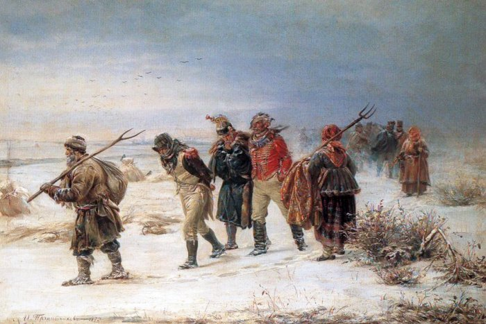 Что случилось с солдатами Наполеона, которые были пленены в России?