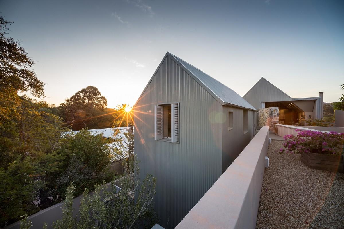 Современный дом в фермерском стиле в ЮАР
