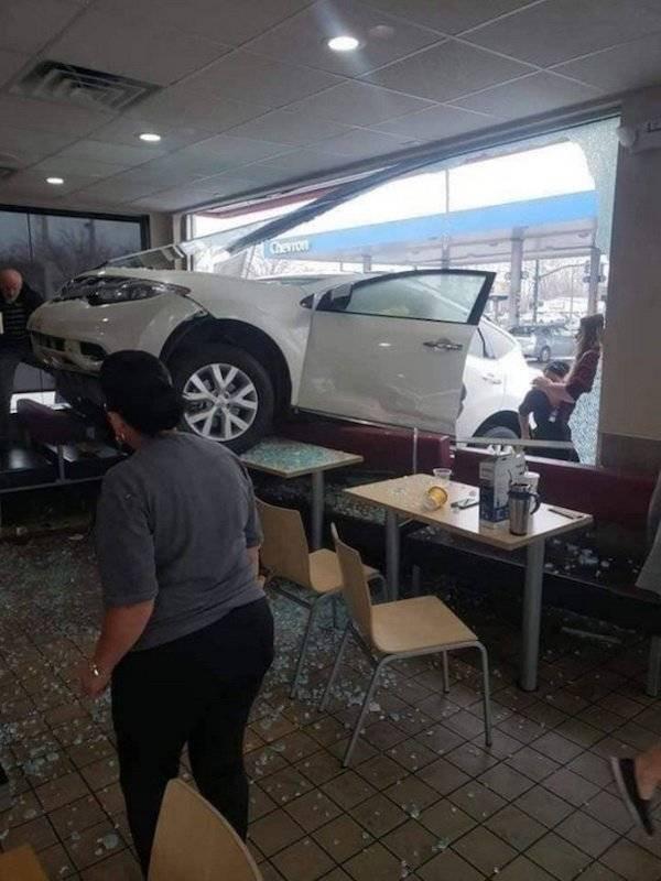 У водителей тоже бывают неудачные дни