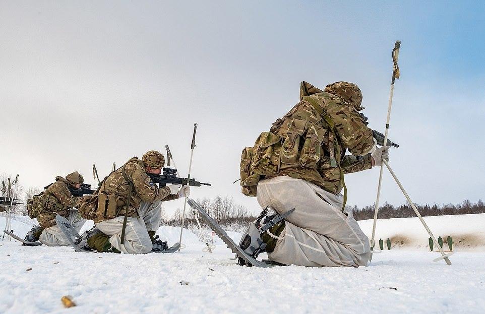 Британские коммандос и подготовка по выживанию в норвежских лесах