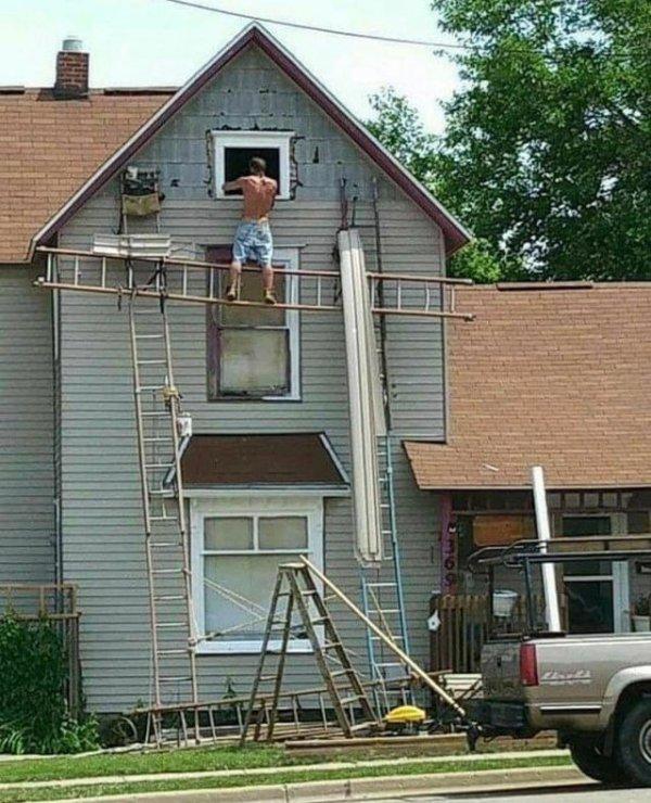 Некоторые просто не слышали о технике безопасности
