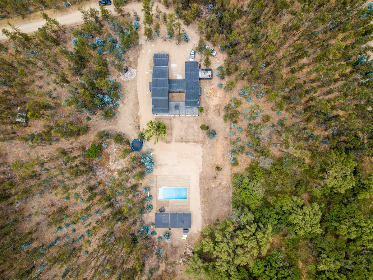 Загородный дом в сельской местности Чили