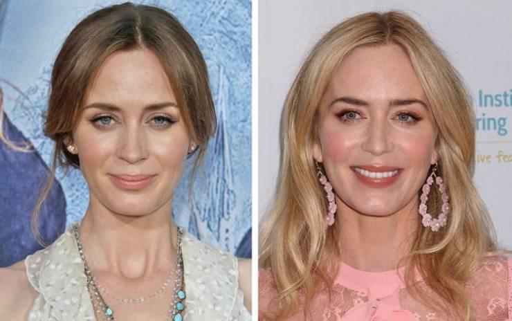Знаменитости, которые однажды примеряли цвет блонд