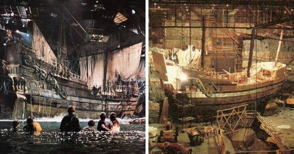 Фильмы, для которых построили масштабные декорации