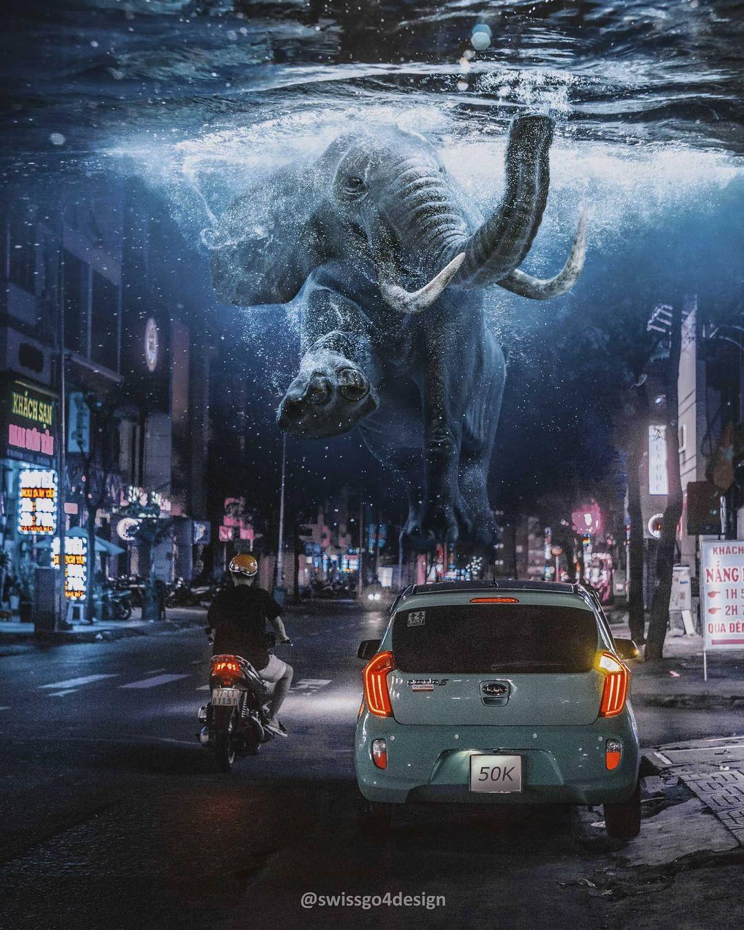 Невероятный сюрреалистический мир от Хансруди Рамзауэра