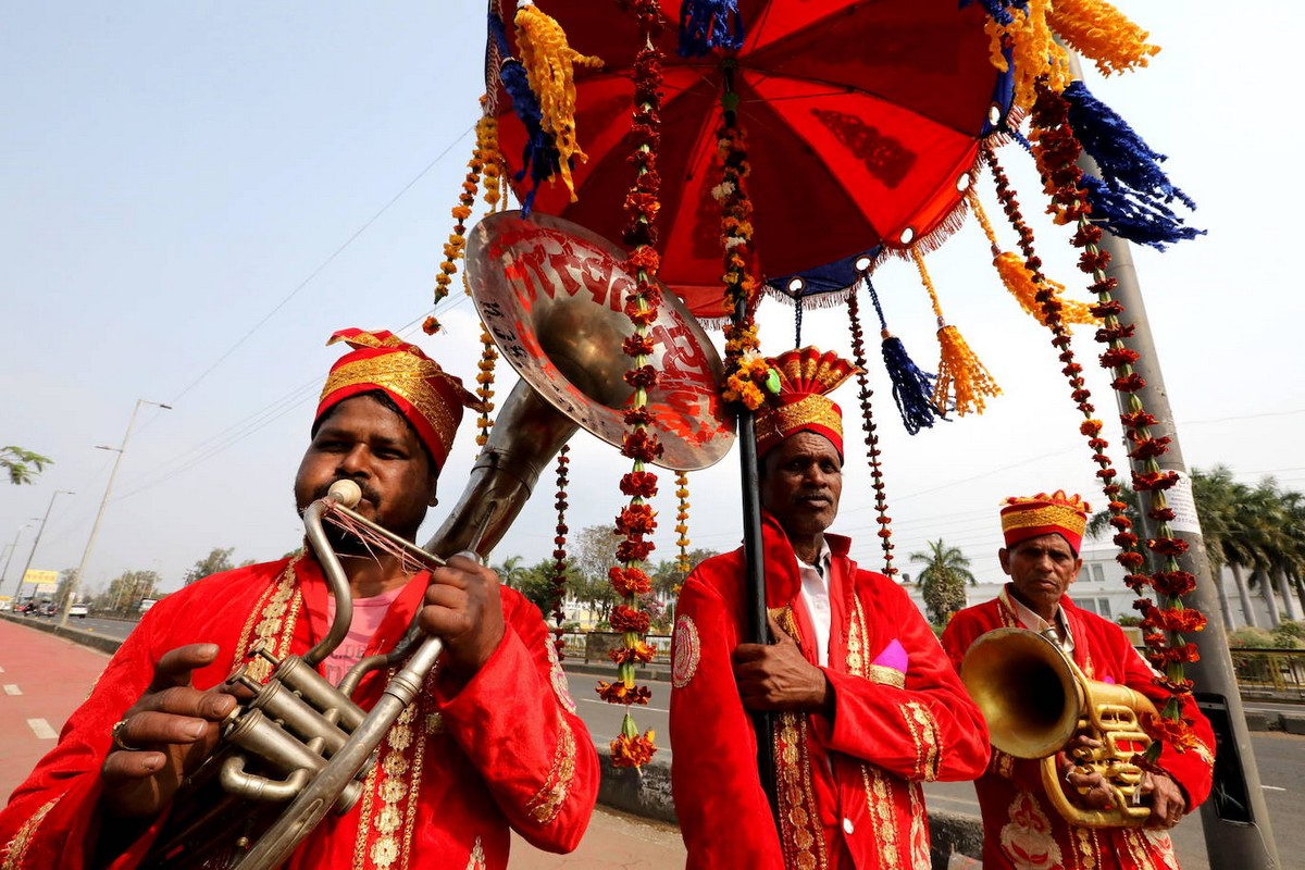 Праздник Васанта-панчами прошел в Бхопале