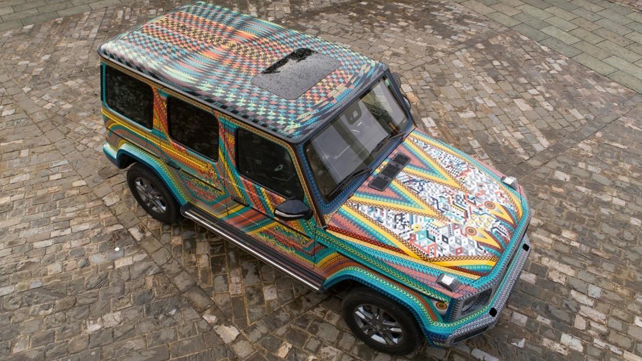 Красочный Mercedes-Benz G-Class в мексиканских традициях