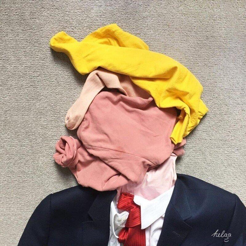 Бытовой сюрреализм от художницы Хельги Стенцель