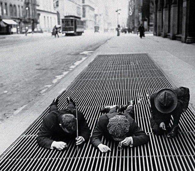 Яркие черно-белые фотографии прошлых лет
