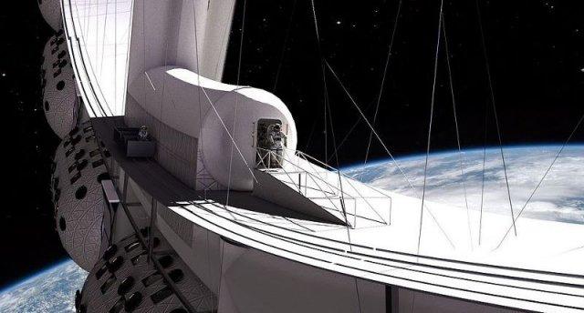 Концепт космо-отеля Voyager Station на низкой околоземной орбите