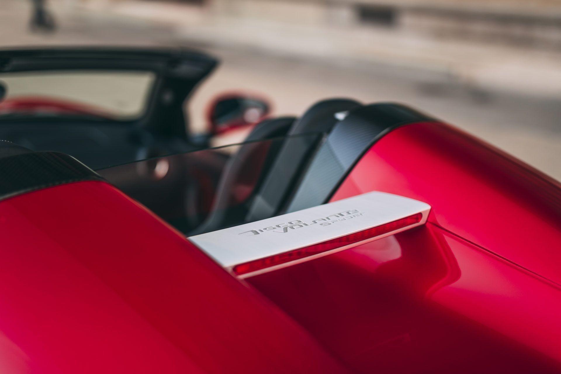 Редкий суперкар Alfa Romeo Disco Volante Spyder
