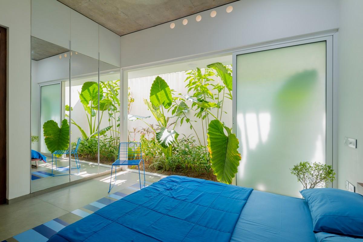 Роскошный дом с биофильным дизайном в Индии