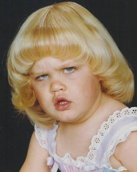 Снимки малышей, которые сразу родились взрослыми