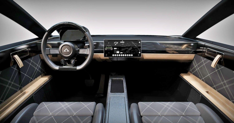 Электрический кроссовер-купе Alpha Jax в ретро-стиле из Калифорнии