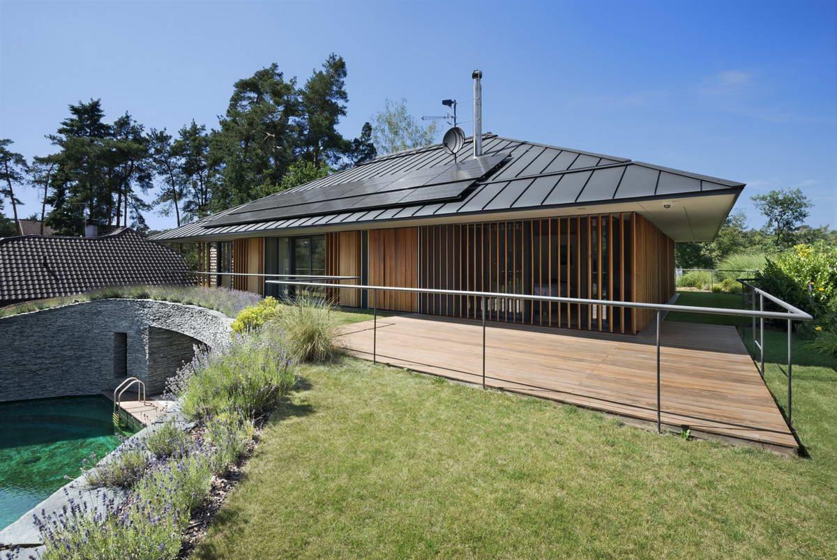 Волшебное преображение неудобного дома в Чехии