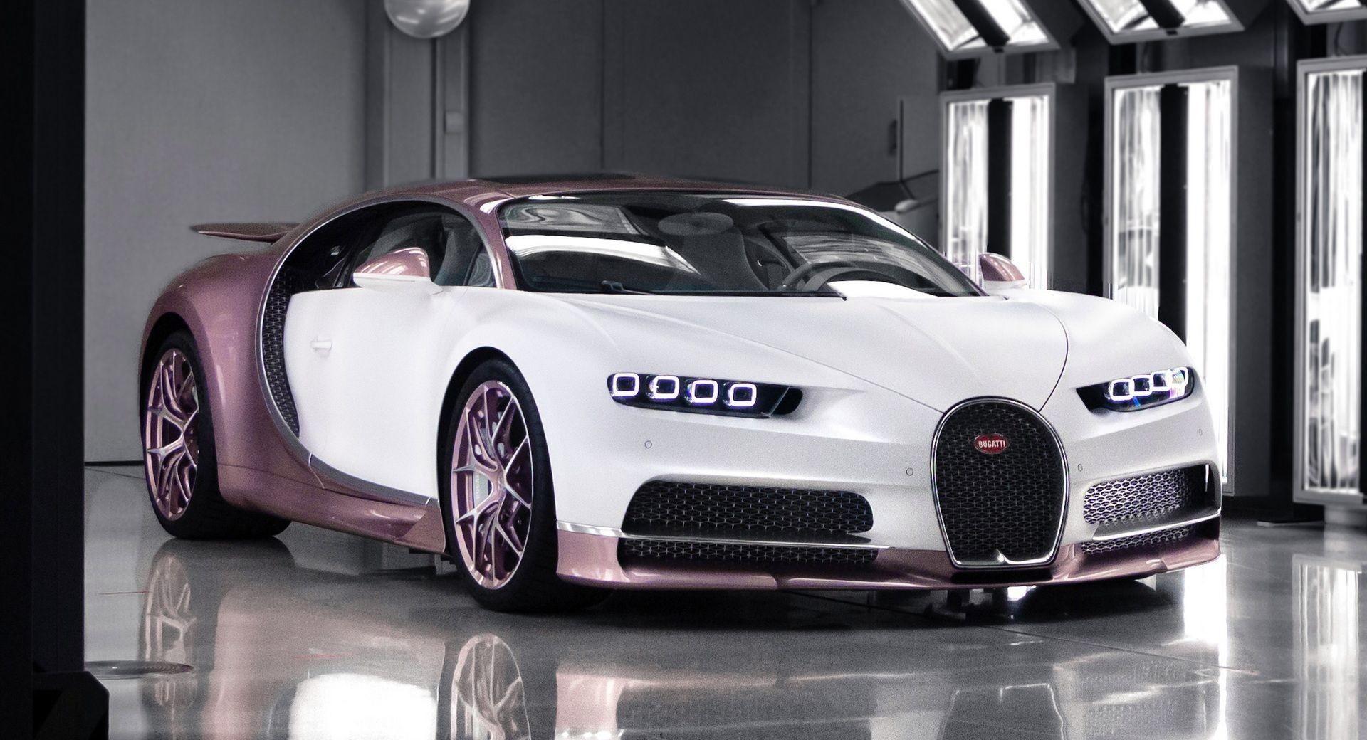 Британец заказал эксклюзивный Bugatti Chiron для своей супруги