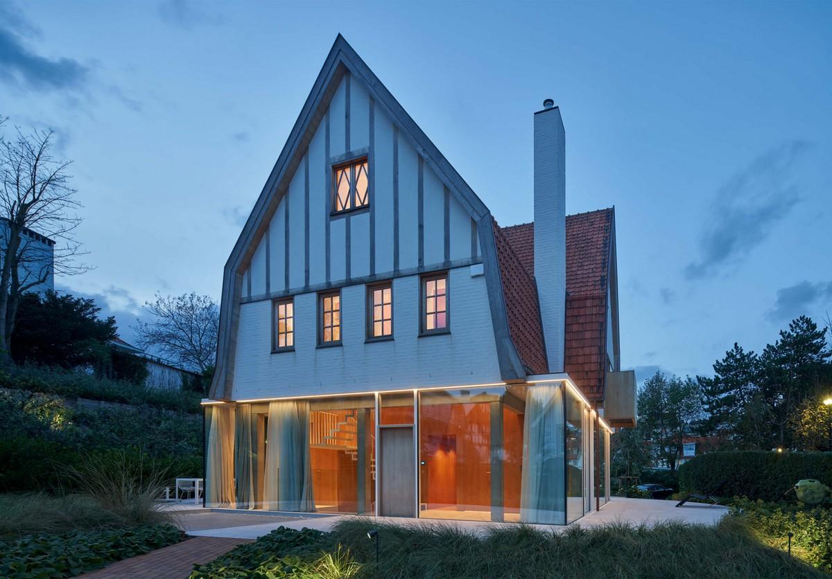 Масштабная реконструкция старинной виллы в Бельгии